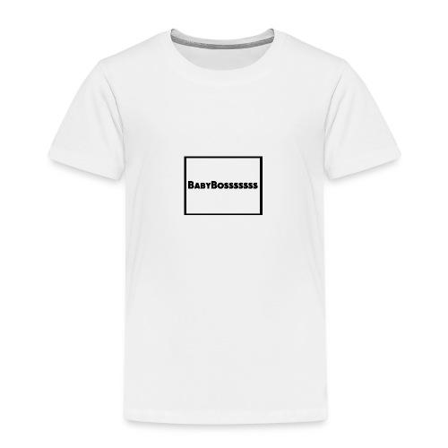 BabyBosssssss - Kids' Premium T-Shirt