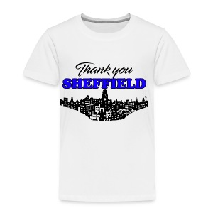 Thank You Sheffield - Kids' Premium T-Shirt