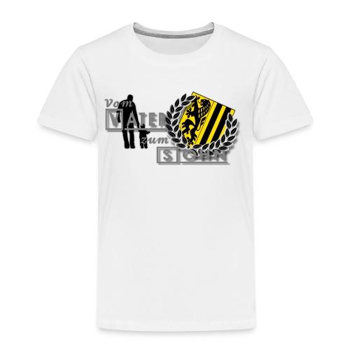 vater und sohn - Kinder Premium T-Shirt