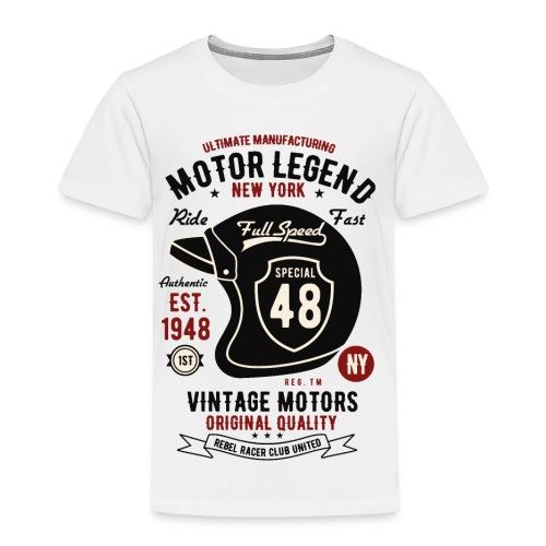 Motor Legend Helmet - Kinder Premium T-Shirt