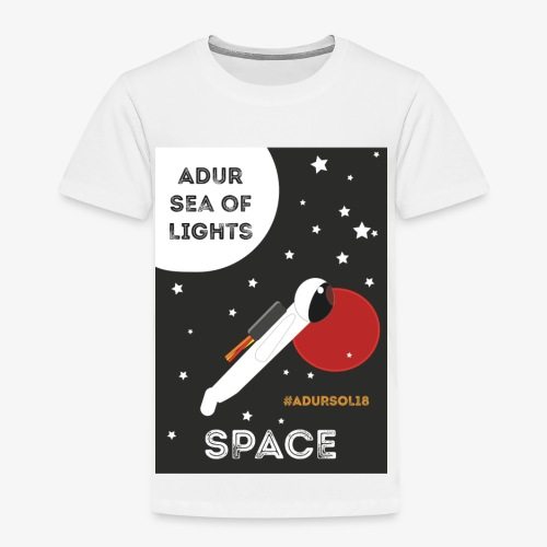 #ADURSOL18 Space Theme - Kids' Premium T-Shirt