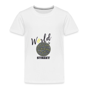 World is Street - T-shirt Premium Enfant