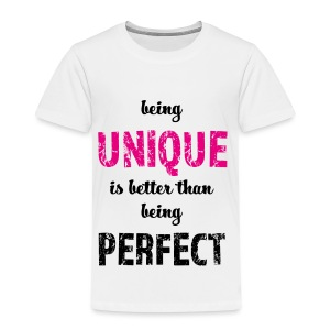 being UNIQUE - Kinder Premium T-Shirt
