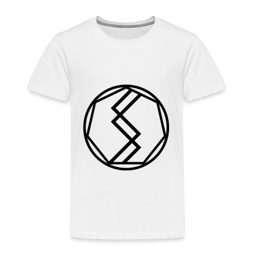 Silent Science Logo (Black) - Kids' Premium T-Shirt