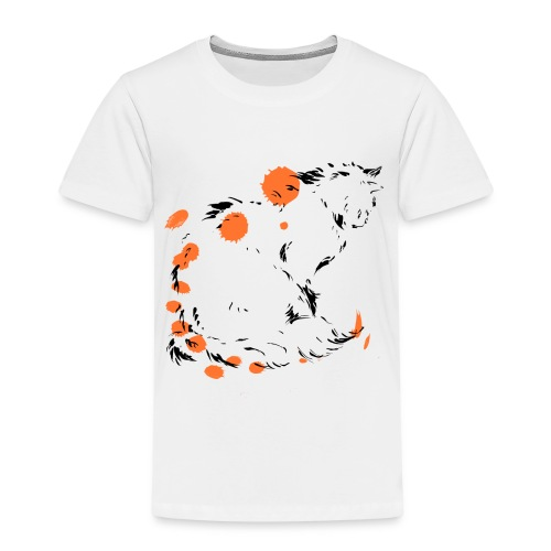 chat penseur - T-shirt Premium Enfant