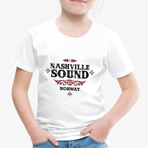 Bli med på konsert med Nashville Sound! - Premium T-skjorte for barn