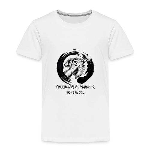 Freerunning Parkour Schijndel Logo - Kinderen Premium T-shirt