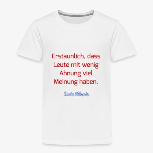 20180106 150838 - Kinder Premium T-Shirt