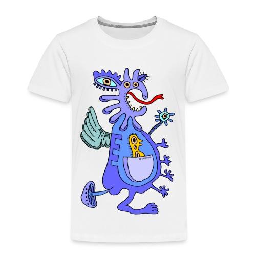 Blue Dragon - Maglietta Premium per bambini