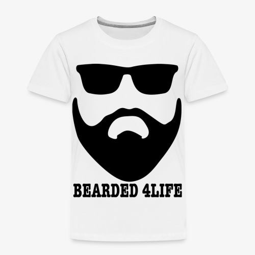 BEARDED 4LIFE - Premium-T-shirt barn