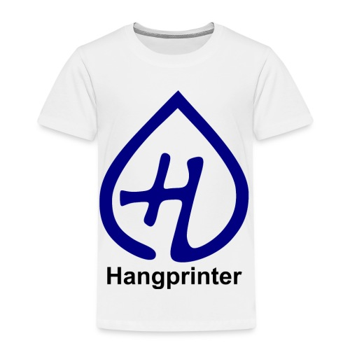 Hangprinter logo and text - Premium-T-shirt barn