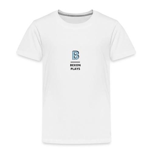 Bexon plays logo - Kids' Premium T-Shirt