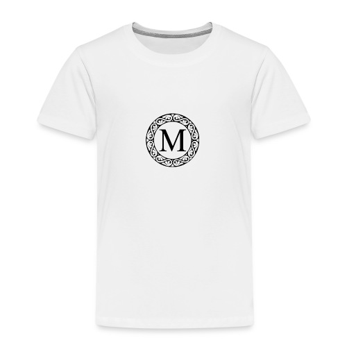 the letter M - Kids' Premium T-Shirt