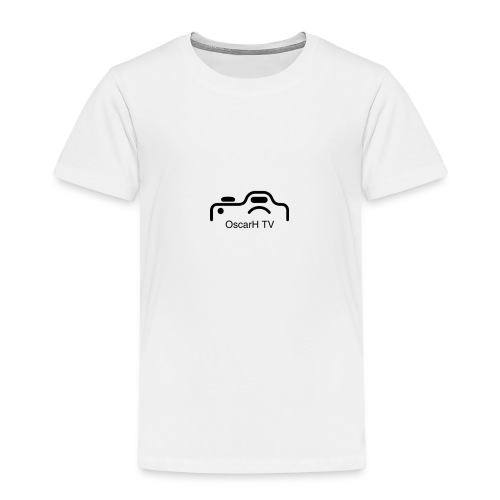 OscarH TV logo 2 Camera - Kids' Premium T-Shirt