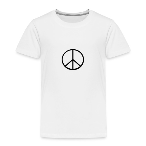 peace - Premium-T-shirt barn