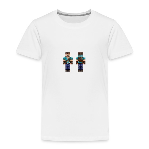 MIN MINECRAFT SKIN - Premium T-skjorte for barn