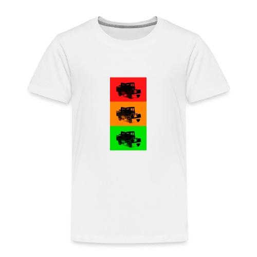 Retro Land-Rover - Kids' Premium T-Shirt