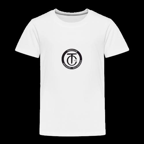 TCHR Logo Schwarz-Weiß - Kinder Premium T-Shirt