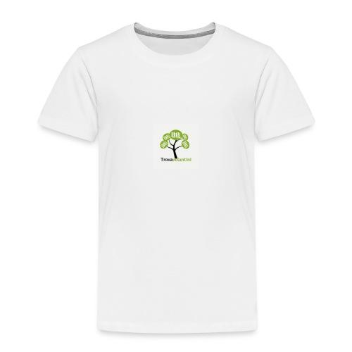 Solo logo trovavolantini - Maglietta Premium per bambini