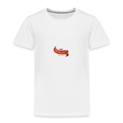 ORIGINAL QUALITY - Camiseta premium niño