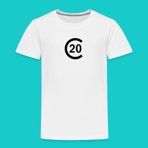 cal20 sailing class logo - Kinder Premium T-Shirt