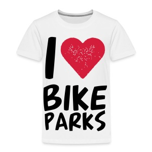 I HEART BIKE PARKS - Kinder Premium T-Shirt
