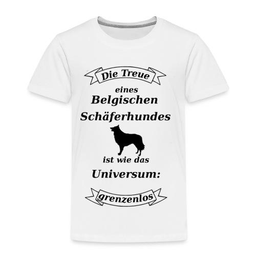 Belgischen Schaeferhundes Treue - Kinder Premium T-Shirt