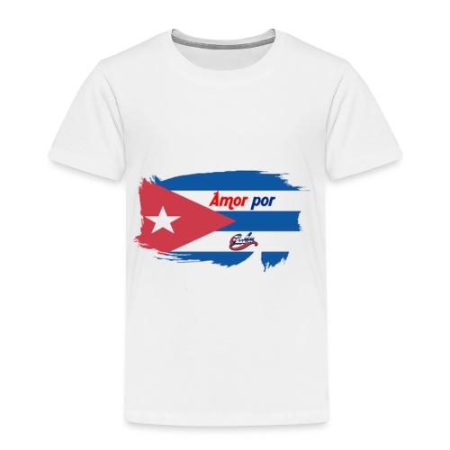 Amor Por Cuba - Maglietta Premium per bambini