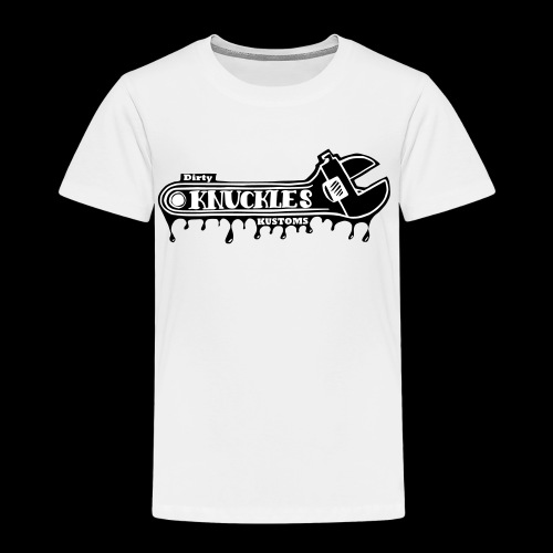 Dirty Knuckels Kustom wrench - Premium-T-shirt barn