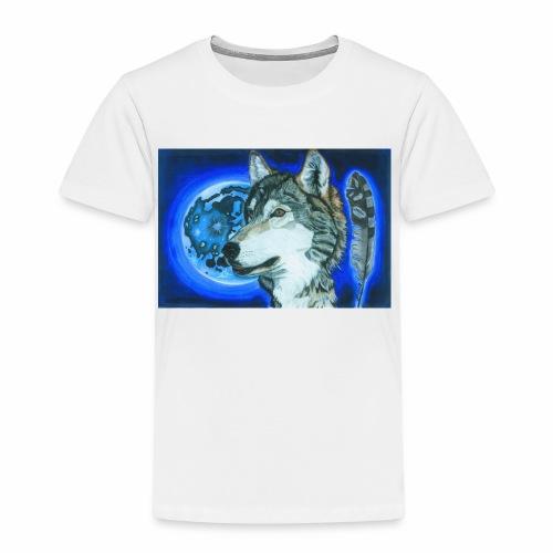 Wolf 1 - Kinder Premium T-Shirt