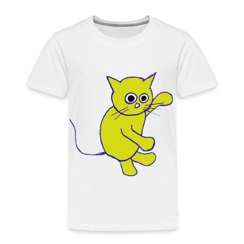 Hugo Puddlebucket Meow the cat - Kids' Premium T-Shirt