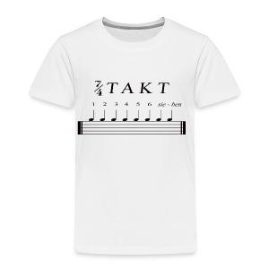 Schlagzeuger T-Shirt - Sieben Viertel Takt - Kinder Premium T-Shirt