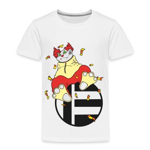 Katze Clown - Kinder Premium T-Shirt