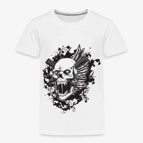 Schädel Schädel - Kinder Premium T-Shirt