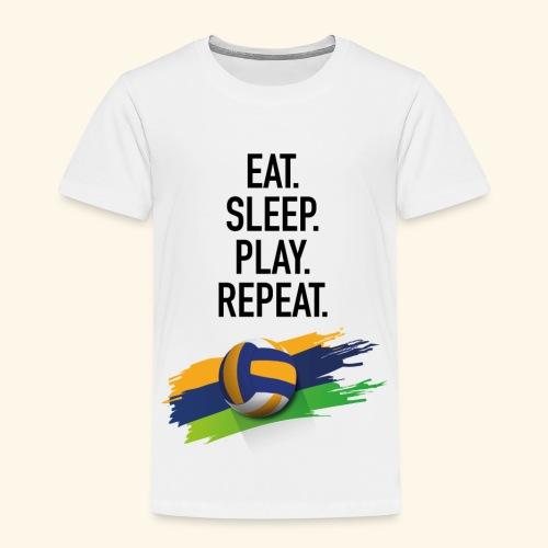 Eat.Sleep.Play.Repeat. - Kinder Premium T-Shirt