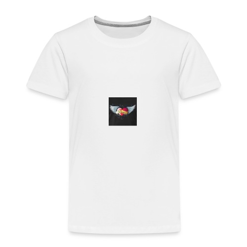 Herz Flamme - Kinder Premium T-Shirt