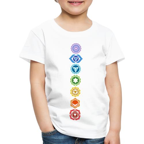 The 7 Chakras, Energy Centres Of The Body - Kids' Premium T-Shirt