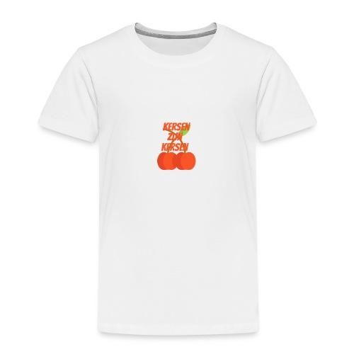 Kersen Zijn Kersen - Kinderen Premium T-shirt