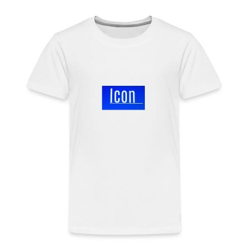 Icon kids small logo tshirt - Kids' Premium T-Shirt