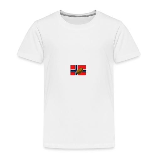 NorPot - Premium T-skjorte for barn