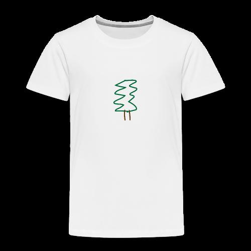 Weihnachtsbaum - Kinder Premium T-Shirt
