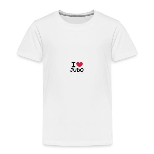 I Love Judo - T-shirt Premium Enfant