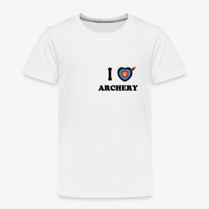 I love archery - T-shirt Premium Enfant