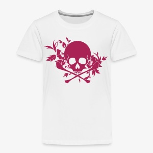 Skull Ornament - Kinder Premium T-Shirt