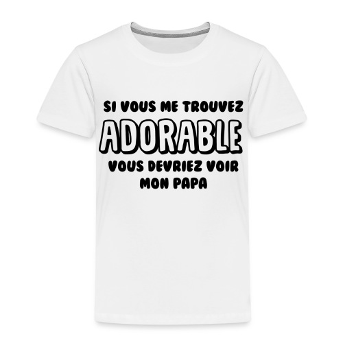 Adorable - T-shirt Premium Enfant