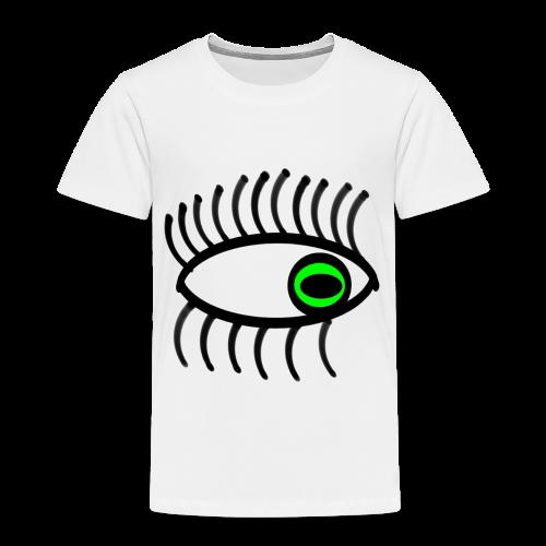 œil vert - T-shirt Premium Enfant
