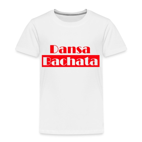 dansa bachata 2 - Premium-T-shirt barn