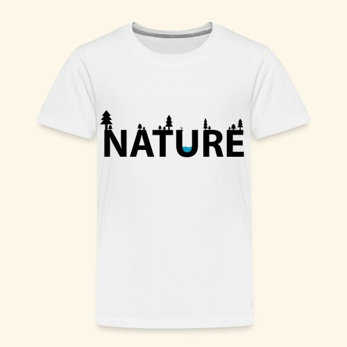 Nature - Premium-T-shirt barn