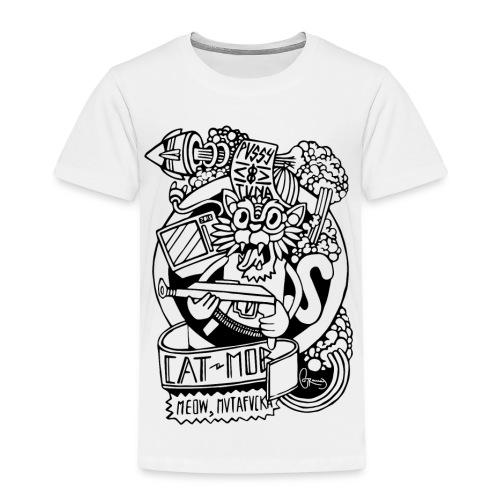 #CATMOB: Meow, mutafucka! (Outline) - Camiseta premium niño