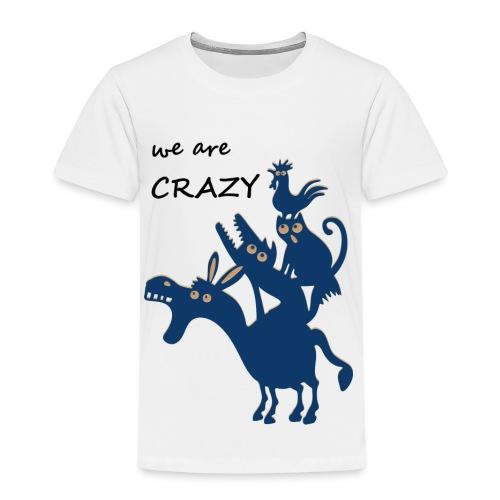 Die verrückten Bremer Stadtmusikanten - Kinder Premium T-Shirt